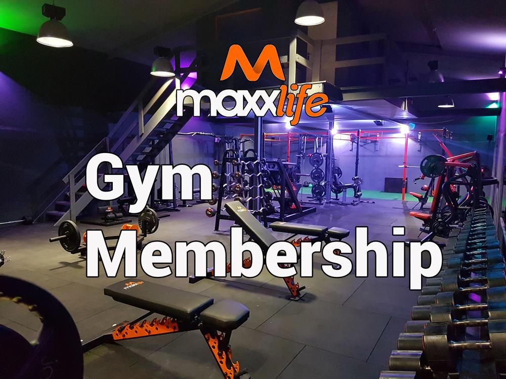Maxx Life Gym Monthly Membership